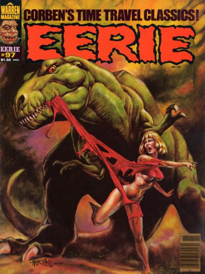 Cover for Eerie (Warren, 1966 series) #97