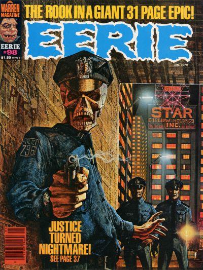 Cover for Eerie (Warren, 1966 series) #98