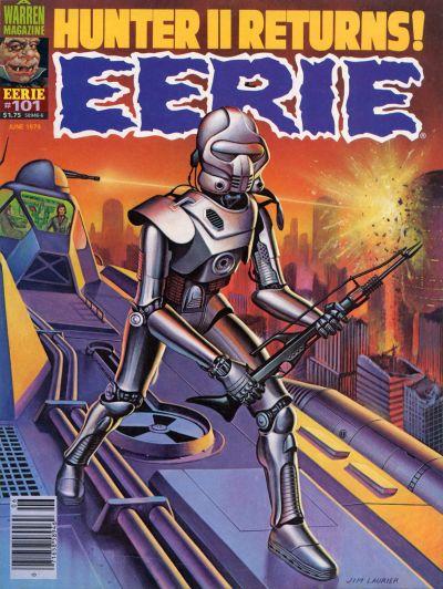 Cover for Eerie (Warren, 1966 series) #101