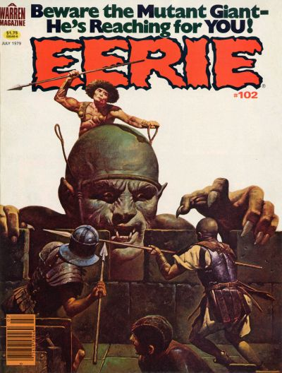 Cover for Eerie (Warren, 1966 series) #102