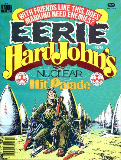 Cover for Eerie (Warren, 1966 series) #106