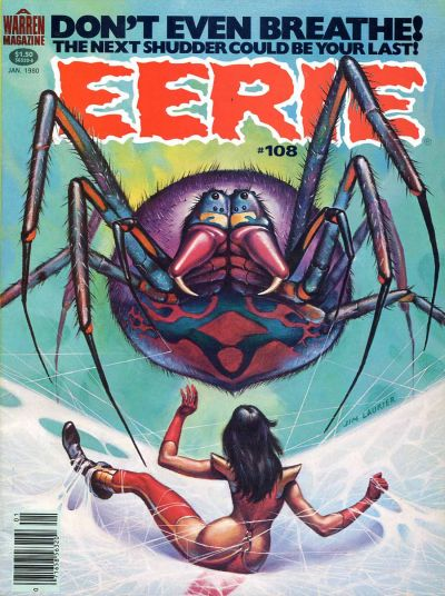 Cover for Eerie (Warren, 1966 series) #108