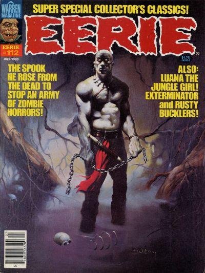 Cover for Eerie (Warren, 1966 series) #112