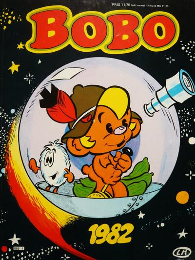 Cover for Bobo [julalbum] (Semic, 1979 series) #1982