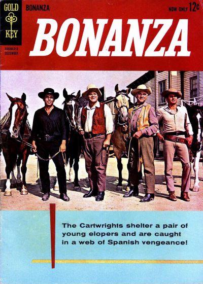 Cover for Bonanza (Western, 1962 series) #1