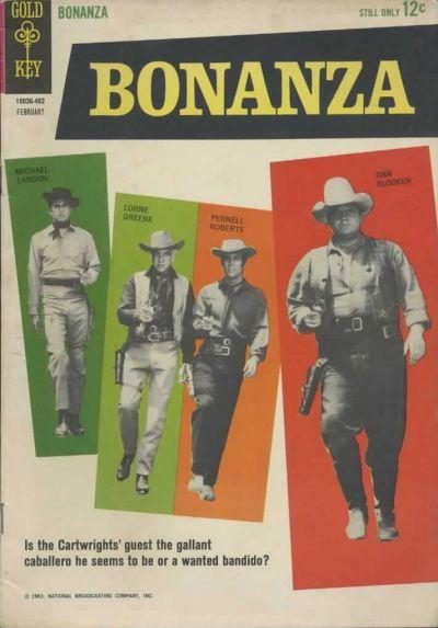 Cover for Bonanza (Western, 1962 series) #6