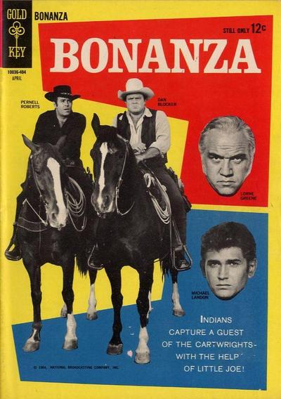 Cover for Bonanza (Western, 1962 series) #7