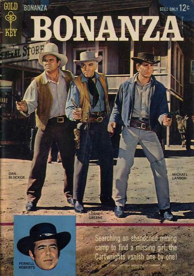 Cover for Bonanza (Western, 1962 series) #8
