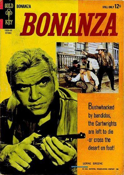 Cover for Bonanza (Western, 1962 series) #10