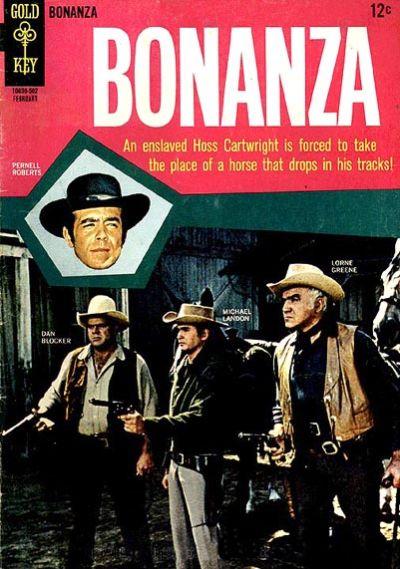 Cover for Bonanza (Western, 1962 series) #12