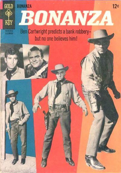 Cover for Bonanza (Western, 1962 series) #17
