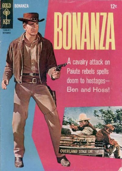 Cover for Bonanza (Western, 1962 series) #22