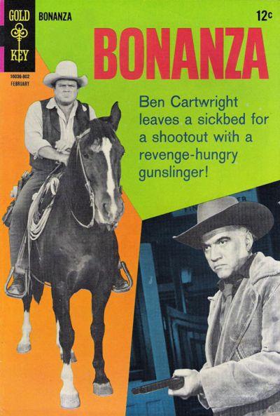 Cover for Bonanza (Western, 1962 series) #27