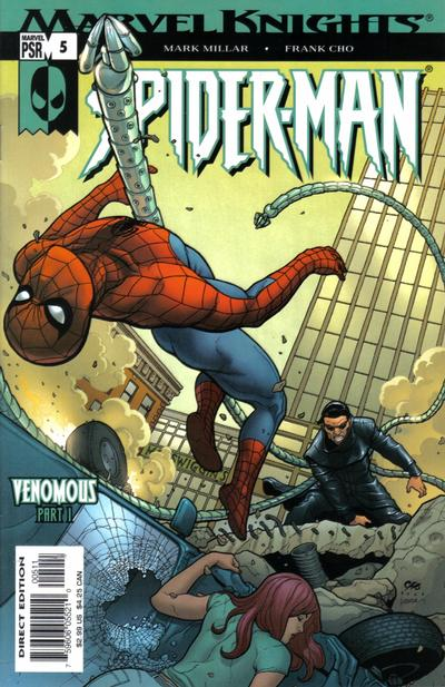 Cover for Marvel Knights Spider-Man (Marvel, 2004 series) #5