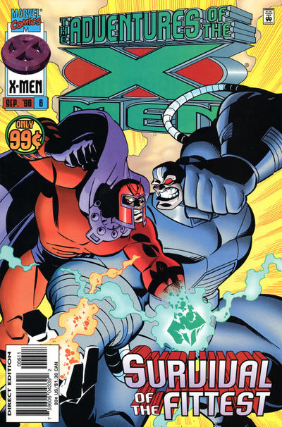 Cover for The Adventures of the X-Men (Marvel, 1996 series) #6