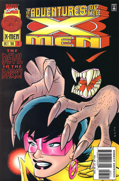 Cover for The Adventures of the X-Men (Marvel, 1996 series) #7