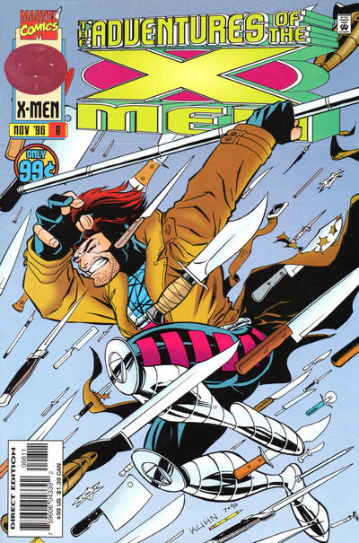 Cover for The Adventures of the X-Men (Marvel, 1996 series) #8