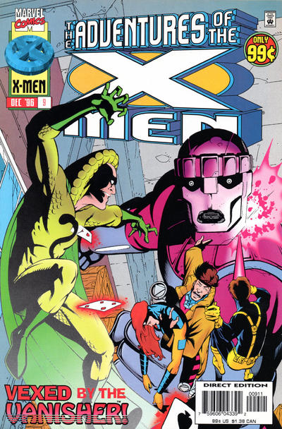 Cover for The Adventures of the X-Men (Marvel, 1996 series) #9