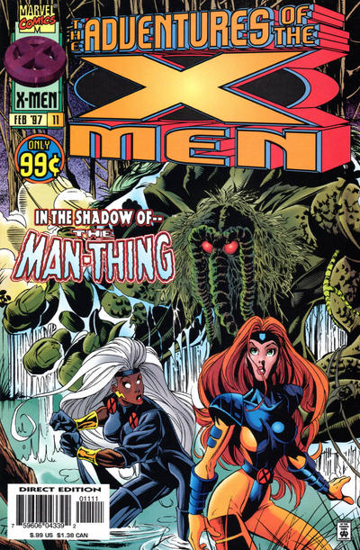 Cover for The Adventures of the X-Men (Marvel, 1996 series) #11