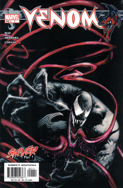 Cover for Venom (Marvel, 2003 series) #1