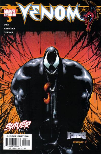 Cover for Venom (Marvel, 2003 series) #2