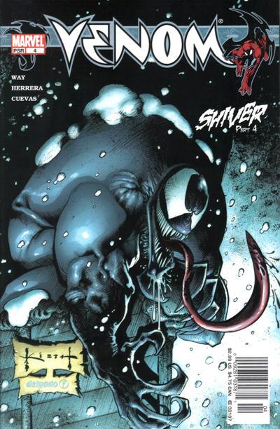 Cover for Venom (Marvel, 2003 series) #4
