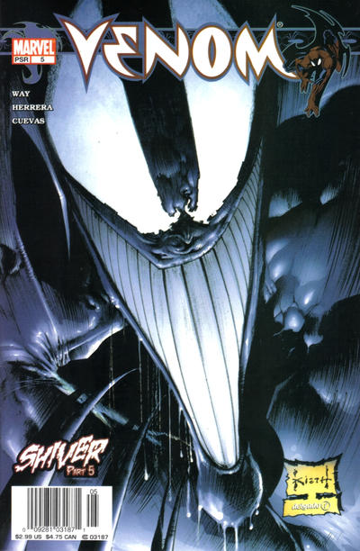 Cover for Venom (Marvel, 2003 series) #5