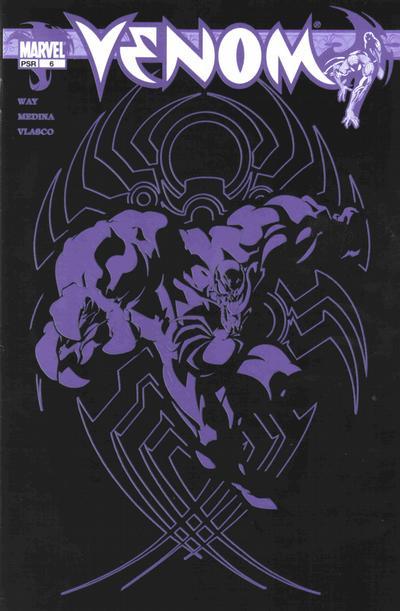 Cover for Venom (Marvel, 2003 series) #6