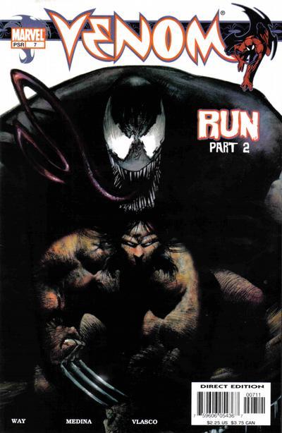 Cover for Venom (Marvel, 2003 series) #7