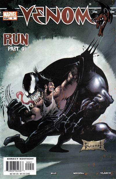 Cover for Venom (Marvel, 2003 series) #9