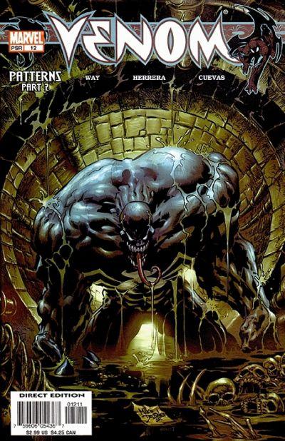 Cover for Venom (Marvel, 2003 series) #12