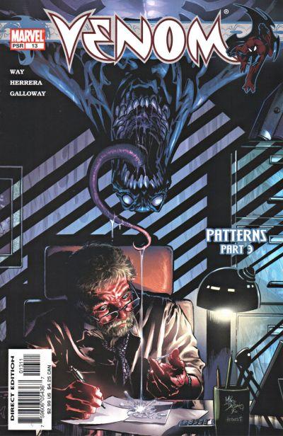 Cover for Venom (Marvel, 2003 series) #13