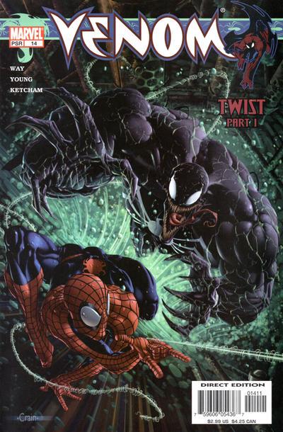 Cover for Venom (Marvel, 2003 series) #14