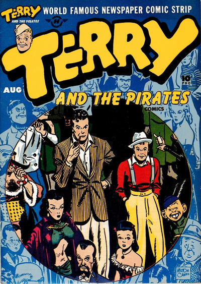 Cover for Terry and the Pirates Comics (Harvey, 1947 series) #5