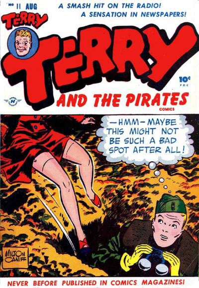 Cover for Terry and the Pirates Comics (Harvey, 1947 series) #11
