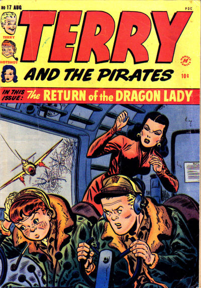 Cover for Terry and the Pirates Comics (Harvey, 1947 series) #17