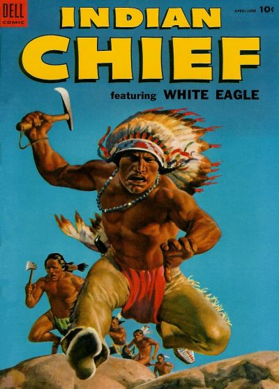Cover for Indian Chief (Dell, 1951 series) #14