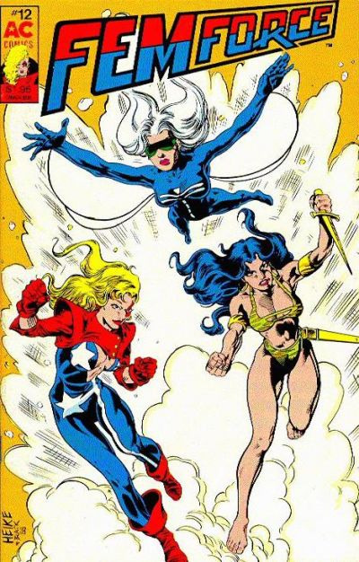 Cover for FemForce (AC, 1985 series) #12