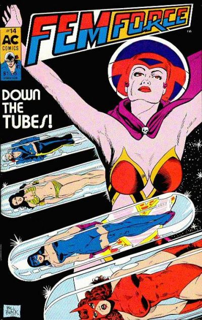 Cover for FemForce (AC, 1985 series) #14