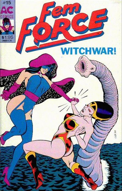 Cover for FemForce (AC, 1985 series) #15