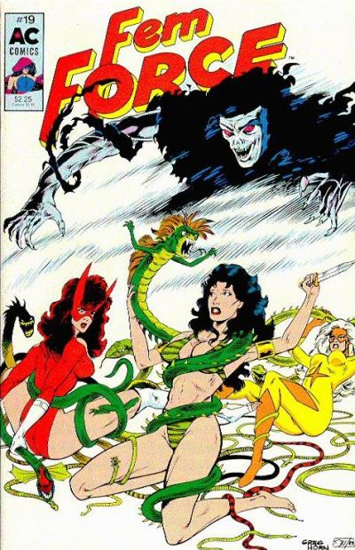 Cover for FemForce (AC, 1985 series) #19