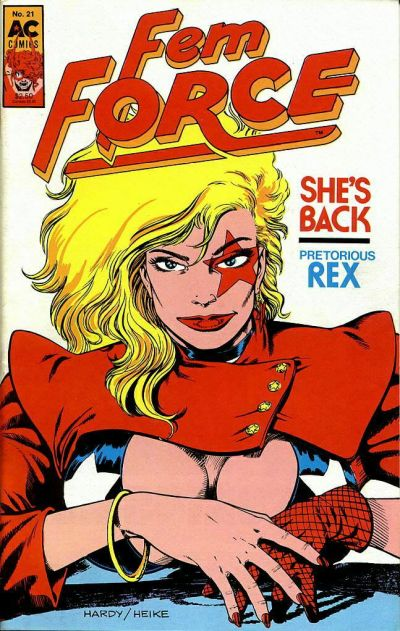 Cover for FemForce (AC, 1985 series) #21