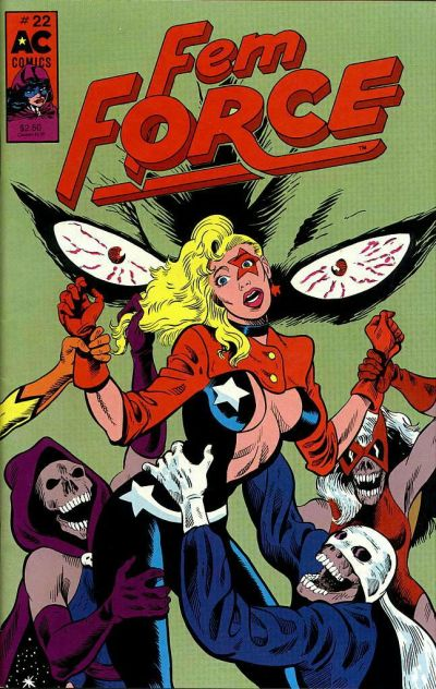 Cover for FemForce (AC, 1985 series) #22