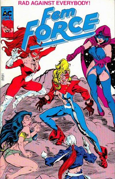 Cover for FemForce (AC, 1985 series) #23