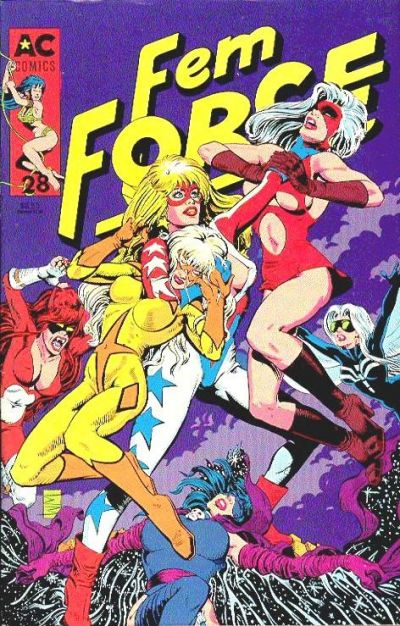 Cover for FemForce (AC, 1985 series) #28