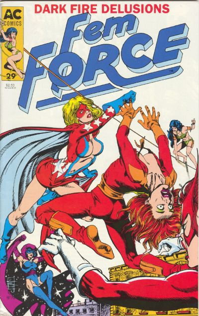 Cover for FemForce (AC, 1985 series) #29