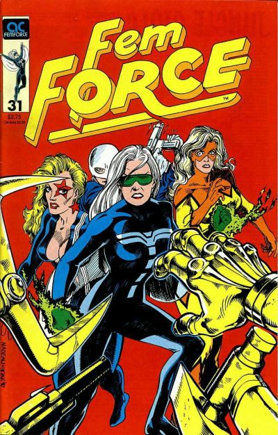Cover for FemForce (AC, 1985 series) #31