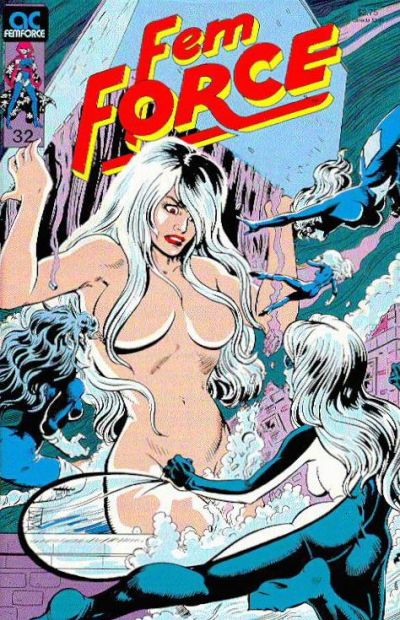 Cover for FemForce (AC, 1985 series) #32