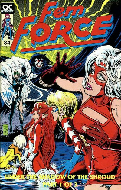 Cover for FemForce (AC, 1985 series) #34