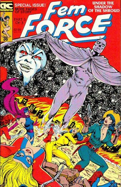 Cover for FemForce (AC, 1985 series) #36